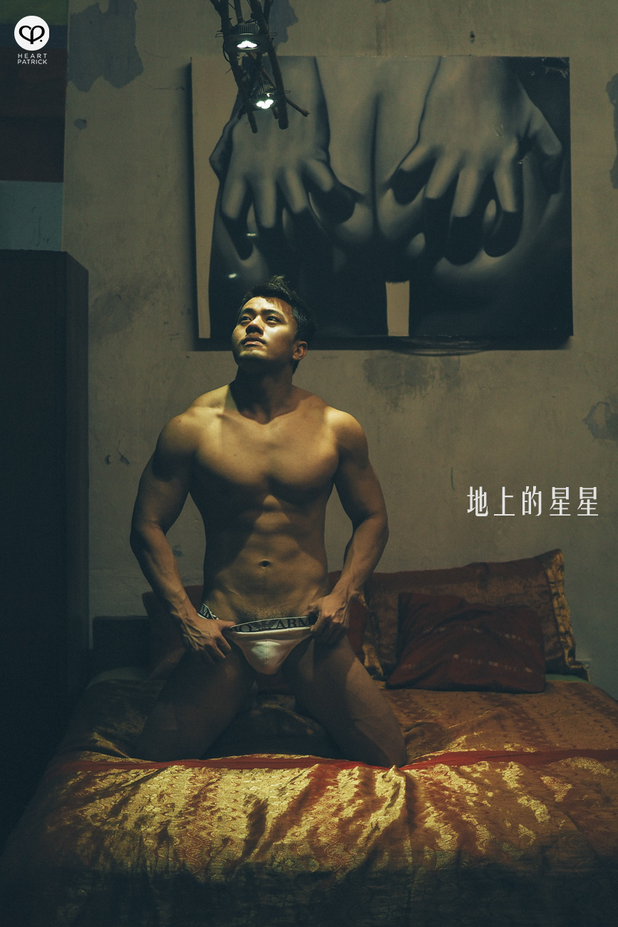 somethingaboutpatrick sensual portrait asian male muscle workout